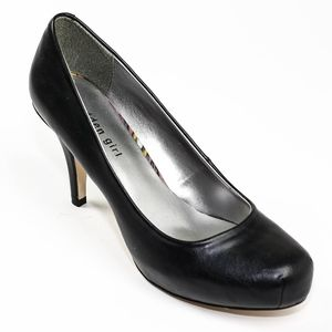 Madden Girl Black Faux Leather Heels